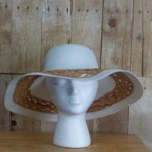 ISA & Stef Inc. White Sun Hat